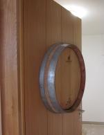 Spezielle Weinkellertüre in Eiche furniert