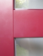 Detail- Aluminium-Vorsatzschale